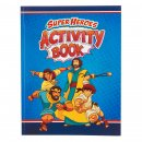 Activity Book Super Heroes