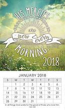 New Mercies Mini Magnetic Calendar 2018