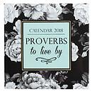 Proverbs 2018 Calendar