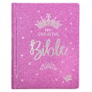 My Creative Bible Purple Glitter Hardcover
