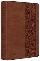 The ESV MacArthur Study Bible: Natural Brown, TruTone