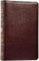 ESV Classic Reference Bible: Burgundy, Genuine Leather