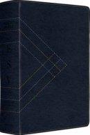 ESV Study Bible Lthlike Navy Angle