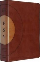 ESV Study Bible Trutone Walnut Imitation Leather