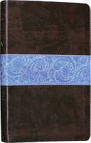 ESV Legacy Bible: Chocolate/Blue, Imitation Leather
