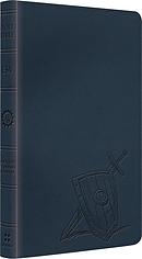 ESV Kids Thinline Bible: Slate Armour, LeatherLike