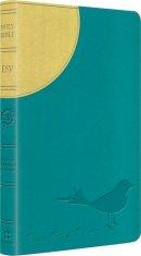ESV Kids Thinline Bible: Sunrise Sparrow, LeatherLike