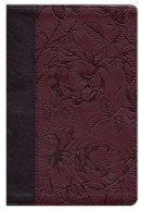 ESV Gospel Transformation Burgundy Blossom Imitation Leather