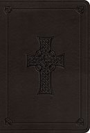 ESV Value Large Print Compact Bible (TruTone, Charcoal, Celt