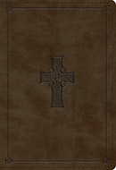 ESV Student Study Bible (TruTone, Olive, Celtic Cross Design