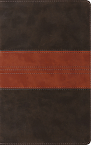 ESV Thinline Reference Bible (TruTone, Forest/Tan, Trail Des