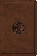 ESV Study Bible, Personal Size (TruTone, Brown, Mosaic Cross