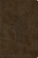 ESV Compact Bible (TruTone, Olive, Celtic Cross Design)
