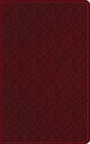 ESV Large Print Value Thinline Bible TruTone, Ruby