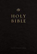 ESV Pew and Worship Bible, Large Print (Black)