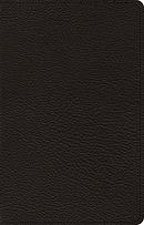 ESV Premium Thinline Bible (Goatskin, Black)