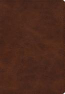 ESV Giant Print Bible (TruTone, Deep Brown)