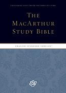 ESV MacArthur Study Bible (Indexed)