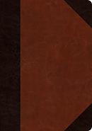 ESV Journaling Bible, Interleaved Edition (TruTone, Brown/Cordovan, Portfolio Design)