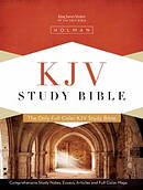KJV Study Bible Black Genuine Leather