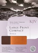 Kjv Lp Compact Bible Dark Light Brown Im