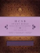 HCSB Holman Study Bible Imitation Leather Purple