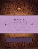 HCSB Holman Study Bible Imitation Leather Purple