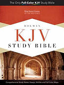 KJV Study Bible: Pink/Brown, LeatherTouch
