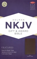 NKJV Gift & Award Brown Imitation Leather