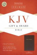 Kjv Gift & Award Bible, Brown Imitation Leather
