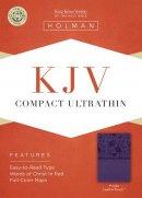 Kjv Compact Ultrathin Bible, Purpleleathertouch