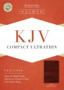 Kjv Compact Ultrathin Bible, Brown Leathertouch
