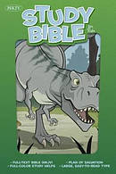 NKJV Study Bible for Kids Dinosaur LeatherTouch