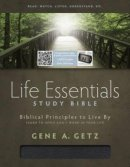 HCSB Life Essentials Study Bible, Black Indexed