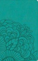 RVR 1960 Biblia Ultrafina, aqua símil piel