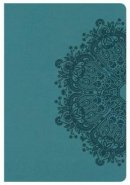 Hcsb Compact Ultrathin Bible, Teal Leathertouch
