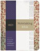 NKJV Notetaking Bible, Red Floral
