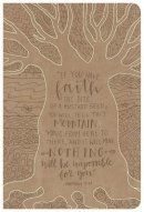 HCSB Large Print Personal Size Reference Bible, Natural Fait