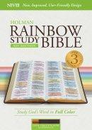 NIV Rainbow Study Bible, Cocoa/Terra Cotta/Ochre Leathertouc
