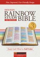KJV Rainbow Study Bible Cocoa/Terra Cotta/Ochre