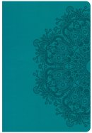 CSB Giant Print Reference Bible, Teal Leathertouch, Indexed