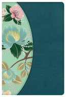 The CSB Study Bible For Women, Teal/Sage LeatherTouch, Indexed