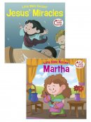 Jesus' Miracles/Martha Flip-Over Book