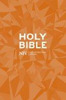 NIV Popular Bible: Orange, Paperback