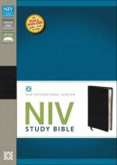NIV Study Bible: Black, Bonded Leather