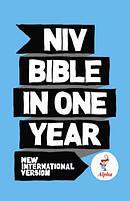 NIV Alpha Bible in One Year: Hardback