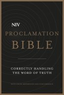 NIV Proclamation Black Bonded Leather Bible