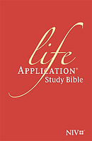 NIV Bonded Leather Life Application Study Bible