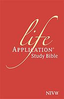 NIV Bonded Leather Life Application Study Bible
