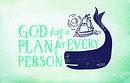 Bible Studies For Life: Kids God Has a Plan Postcards Pkg. 25